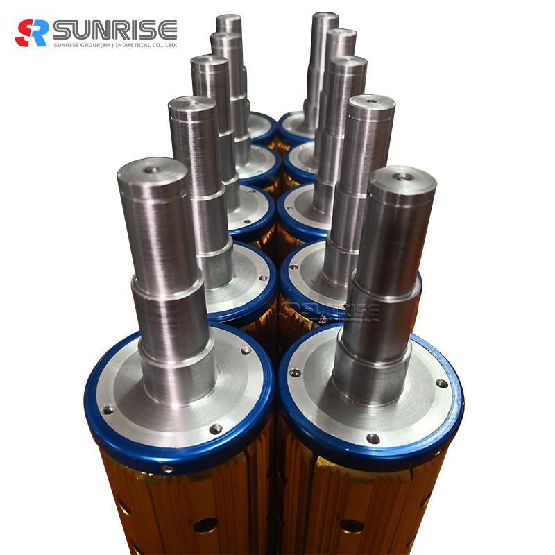 Sunrise Customized Pneumatic Air Shaft Expanding Air Shaft for Printing Machine
