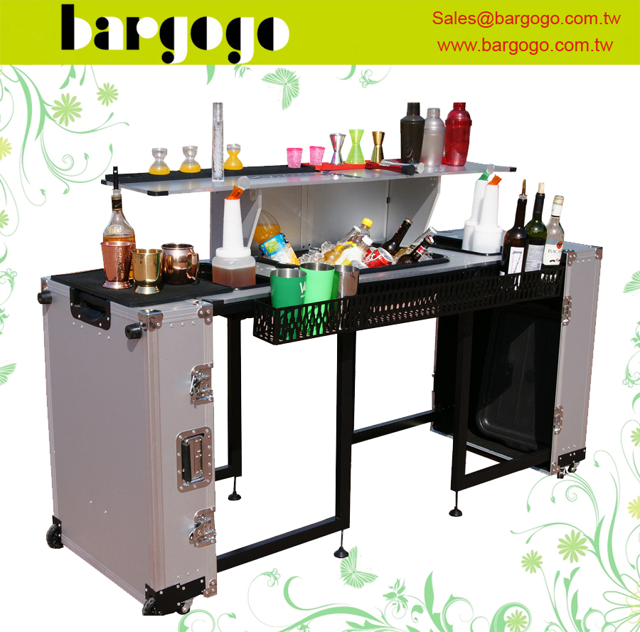 Wsob07aaa Suitcase Style Folding Table Portable Bar Counter Product On Alibaba