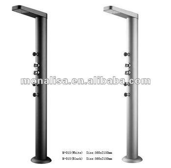 Outdoor Swimming Pool Shower Pillar Shower Panel Shower Column Bath Slide  Pole M-015 - Buy Outdoor Hollow Column Pillar Shower Collumn Shower Panel  ...
