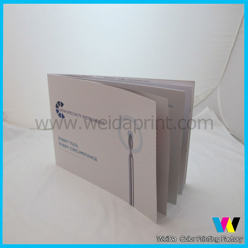 laminated business brochures,hot sell paper brochure sample