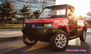 Outstanding cross-country performance electric mini pickup