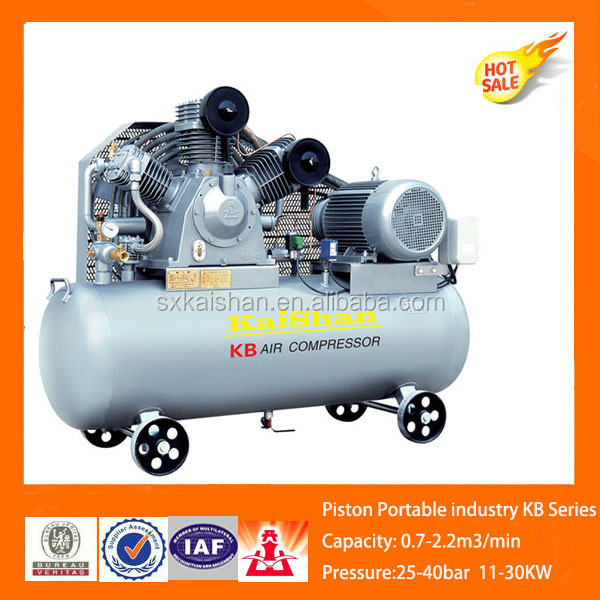 27 CFM 25 BarPET blowing process piston air compressor