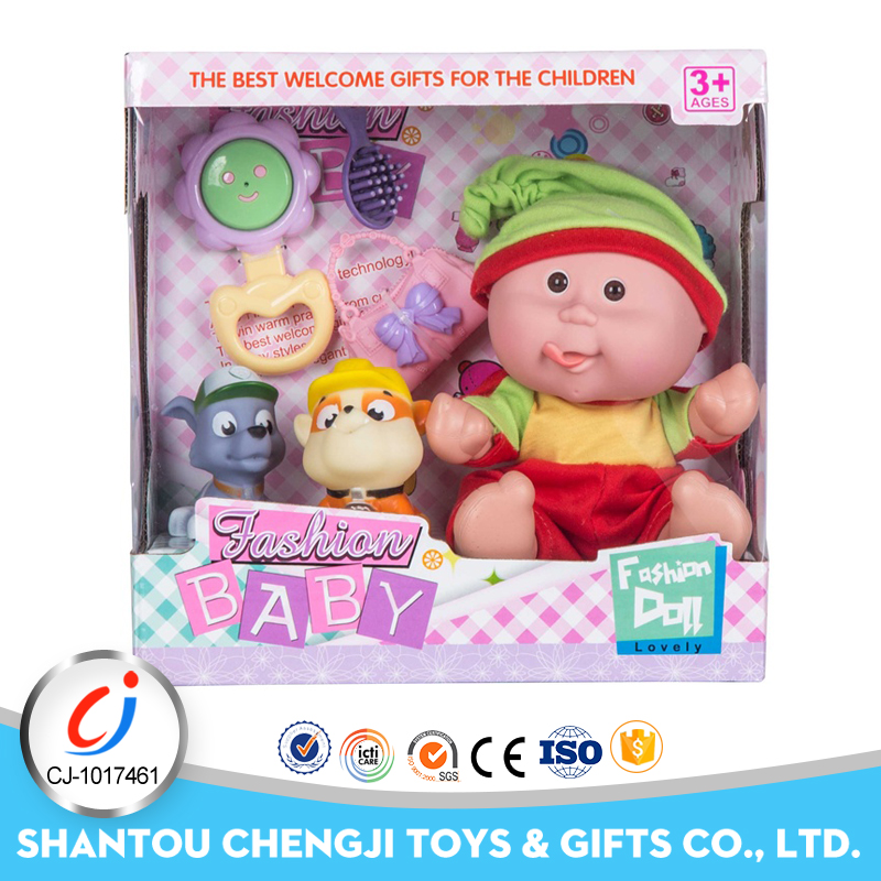 2017 latest top sell 9 inch 4 IC mini cheap silicone baby dolls for sale