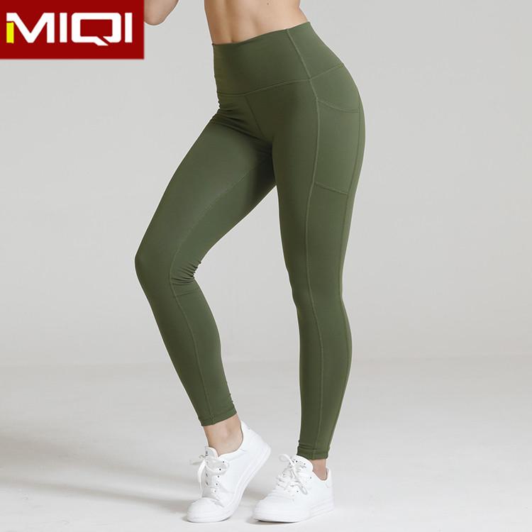 0c69416e2 Malha Sexy Ginásio Roupas de Cintura Alta Esportes Leggings Personalizado  Por Atacado Mulheres Yoga Calças com