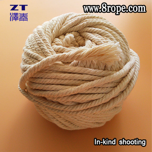 Wholesale Custom 4mm woven cheap cotton rope is Twist Rope