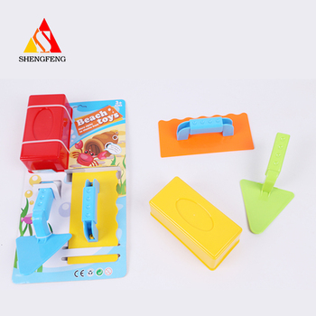 Summer tool toys wiht beach plastic toys