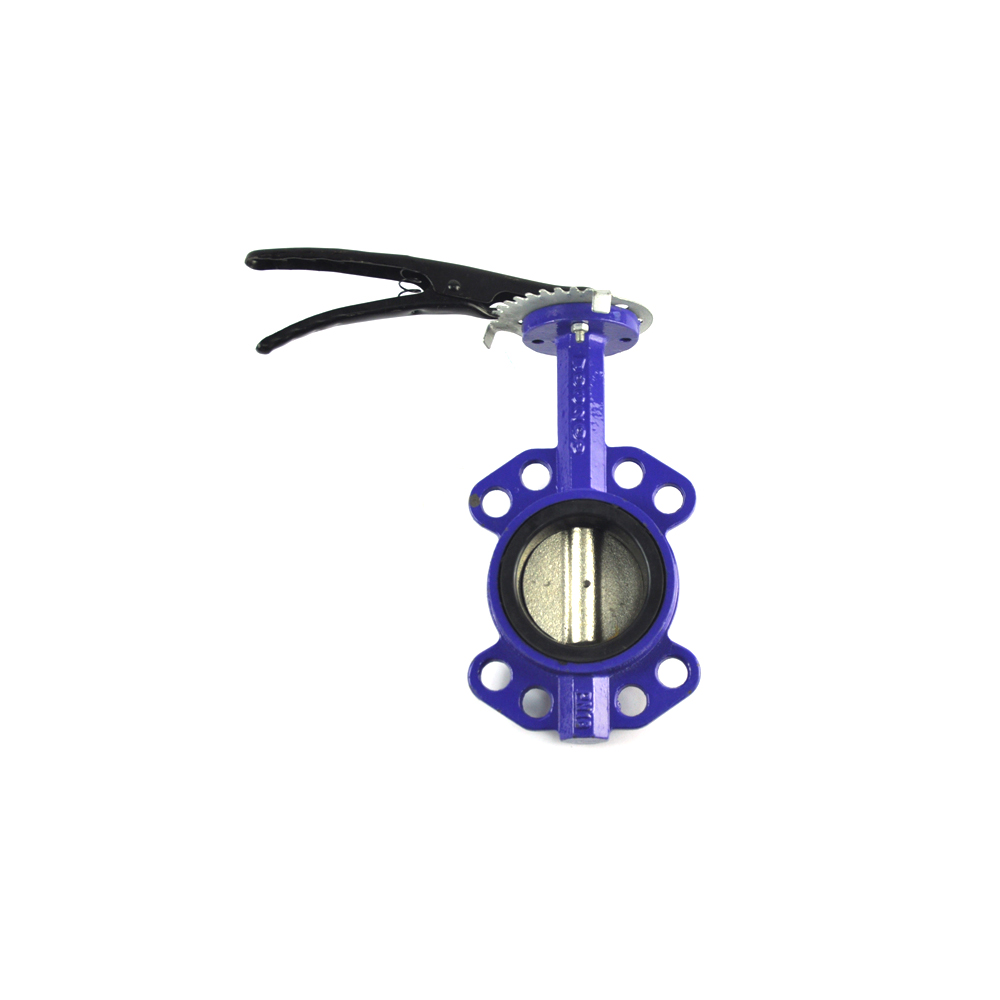 district heating use shut off epdm lined dn 1800 butterfly valve wafer type