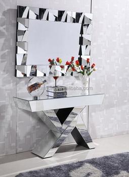 Vente Chaude Design Contemporain Console De Luxe Avec Miroir - Buy ...