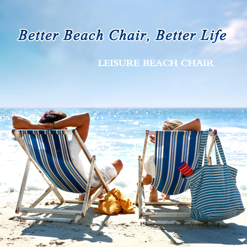 Fashion low seat folding beach chair of ISO9001 Standard