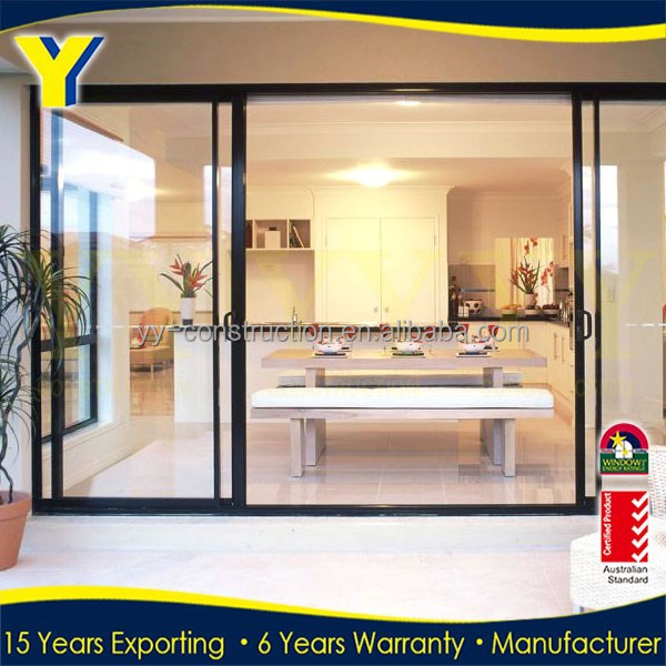 Glass partition door soundproof interior sliding door - Soundproof french doors exterior ...