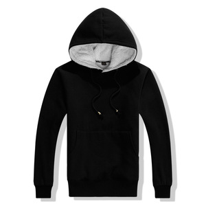 New Promotion Fashion Customized Available Blank Unisex Custom 100% Cotton Plain Hoodie Factory From China