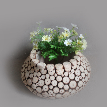 Wholesale Cheap Wooden Craft Flower Pot Wooden Flower Vases Buy