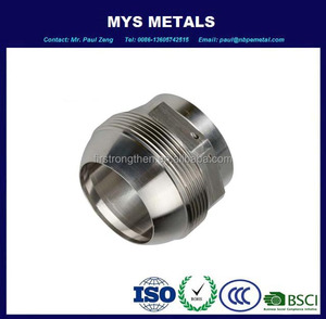 High quality stainless steel mirror polishing CNC lathe part and assembly parts