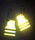 2016 Customized Glow in the Dark Reflective Kid Keychain and Toy for Gift Promotion