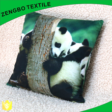 High definition Panda print back support cushion