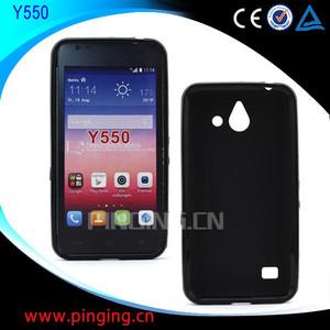 for Huawei Ascend Y550 tpu case, soft tpu back cover case for Huawei Ascend  Y550