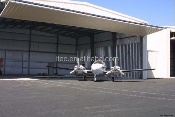 High quality prefabricated airplane hangar