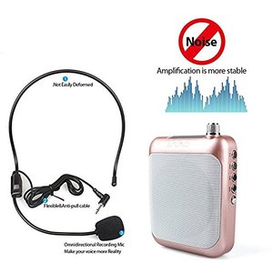 OEM Manufacturer Rechargeable The Best Portable Voice Power Amplifier Audio with microphone Teachers