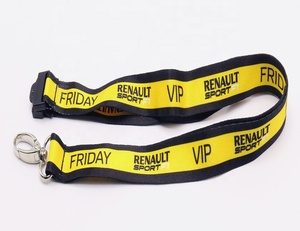 Factory Supply Custom Heat Transfer Lanyards With Safety Buckle