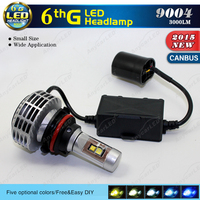 Best Seller All In One Fanless DC12-24V No Flickering CANBUS 9004 LED headlight