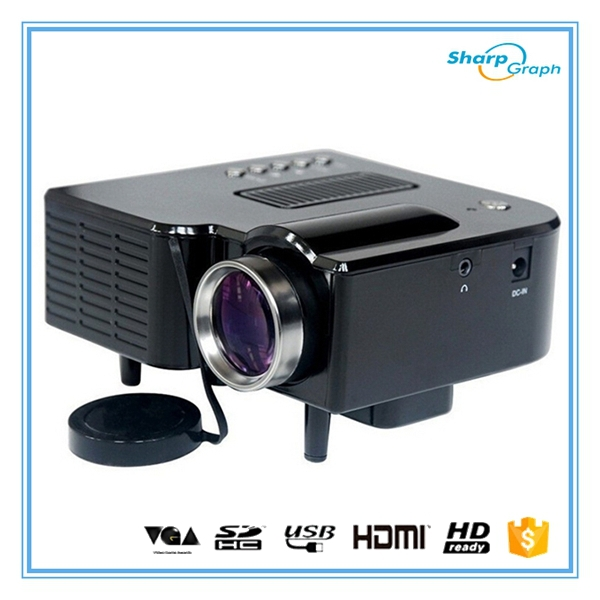 Full hd mini led 3d pico pocket uc28 projector without for Pico pocket projector