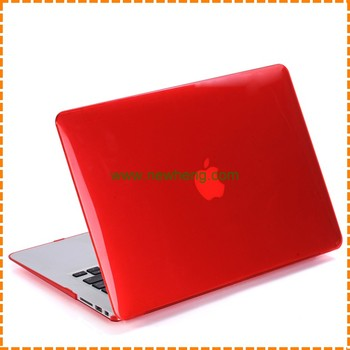 smooth shell plastic crystal hard case for macbook pro retina 13""