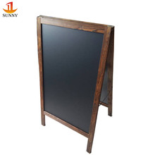 Country rustic used antique decorative A frame chalkboards
