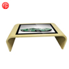 All in one PC 55cm IP65 interactive touch screen multi table with wooden totem