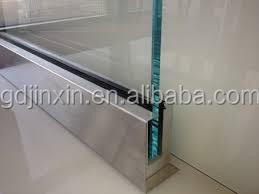 Jinxin Frameless Glass Balustrade U Channel Balustrade Buy U