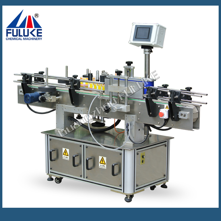 semi auto labeling machine