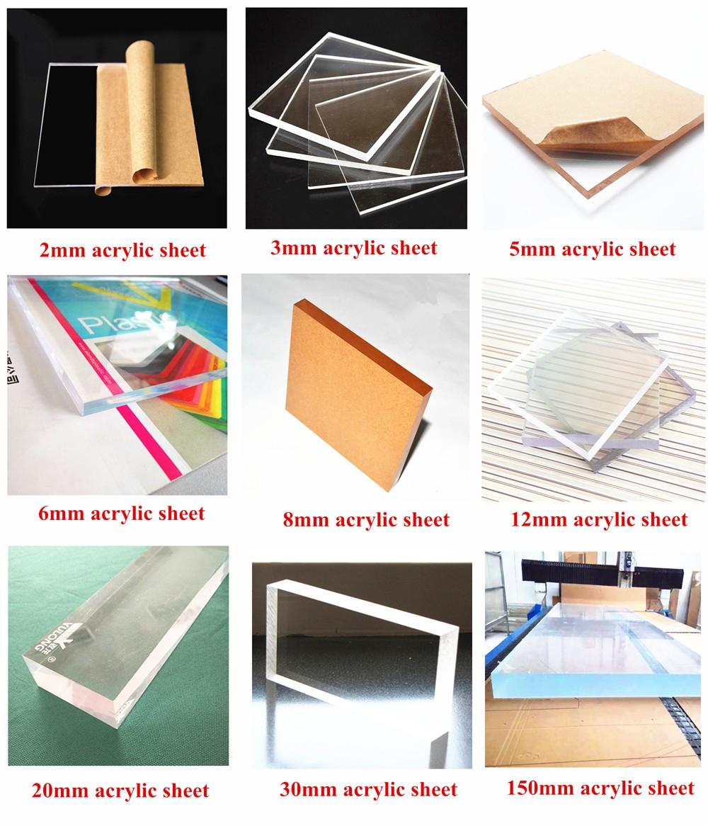 100% virgin acrylic sheet
