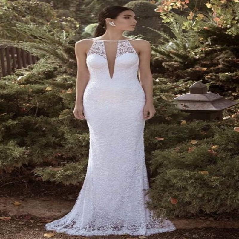 Goddess Wedding Gown: Hippie Vintage Bohemian Wedding Dress 2015 Greek Goddess