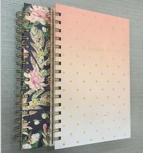 Wholesale notebook hardcover paper spiral binding