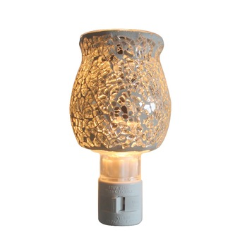 Colorful Mosaic Baby Night Light Plug In Oil Burner Fragrance Night Light  Kids Lamps Wall Lamps