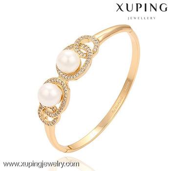 51389 Xuping 18k Gold Jewelry Design Patterns Saudi Arabia Jewelry