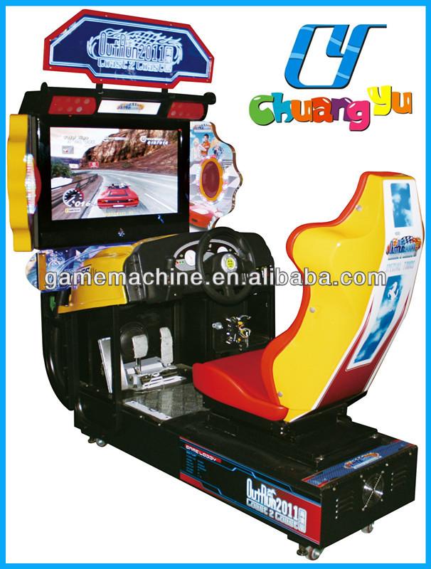 2013 pas cher prix 4d outrun voiture de course simulateur machine de jeu lectronique machines. Black Bedroom Furniture Sets. Home Design Ideas