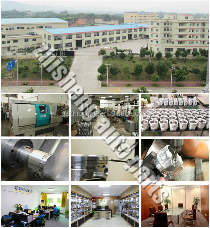 Casting Aluminum Auto Engine Parts Art Piston China Factory