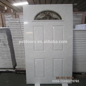 door with pallet packing