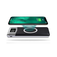 Behenda wireless charging powerbank 10000 mah battery portable mobile wireless charger Qi wireless power bank 10000mah 20000mah