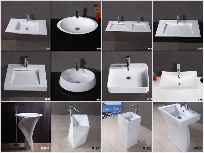 Rettangolo di pietra resina lavabo bagno doppio lavabo buy doppio