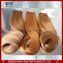Wholesale Peruvian Hair Weave Honey Blonde Remy Hair Weave Double Drawn Russian Remy Hair Extensions