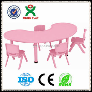 kids plastic chairs and tables(QX-194C)/sale cheap plastic tables and chairs/ school plastic table and chair for kids
