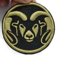 wholesale woven badge iron on custom patches