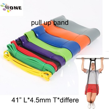 High quality latex resistance bands exercise fitness custom resistance exercise band