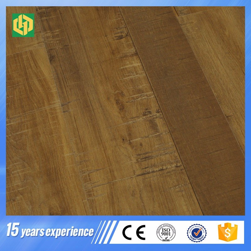 8mm 7mm Unilin click Natural Wood oil Finish Laminate Flooring