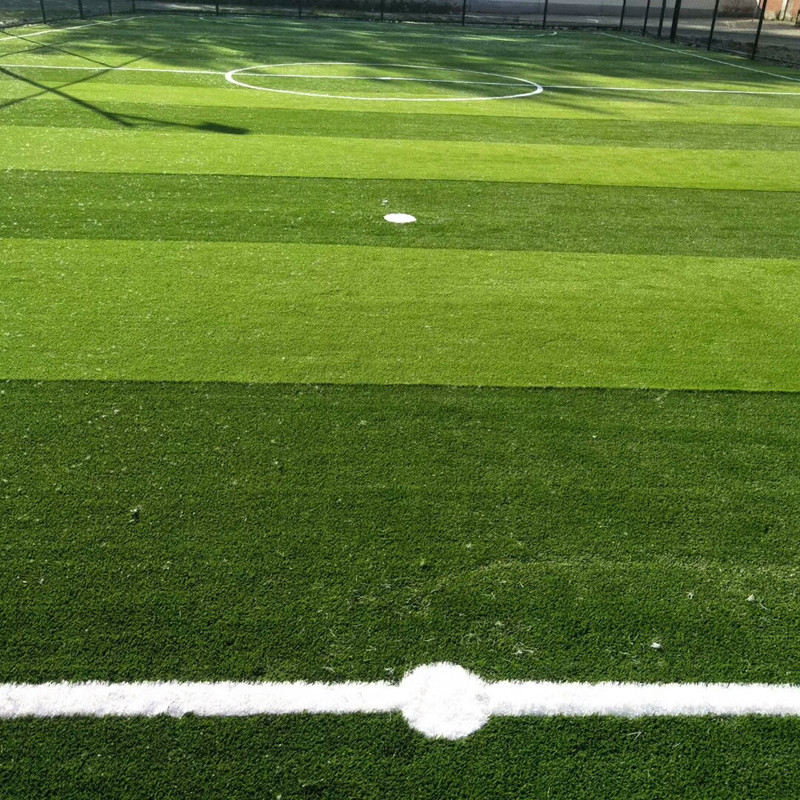 25mm No filling artificial grass for football filed