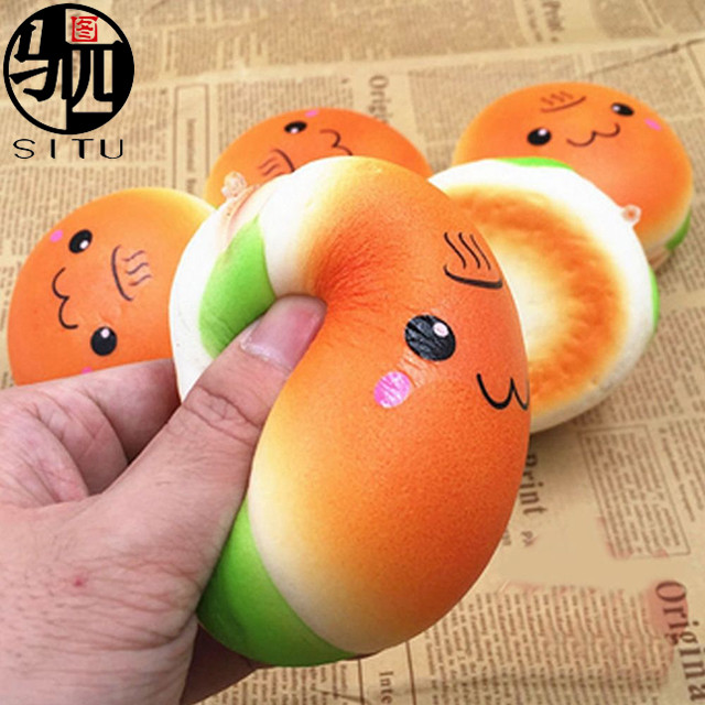 2017 Stress Release Cute Squishies PU Soft Toys Squishy Slow Rising