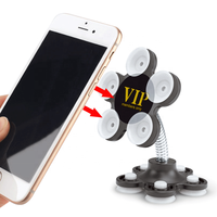 New customizable car magic sucker phone bracket home office double-sided silicone suction cup phone holder promotional gifts