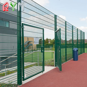 Double Swing Wire Mesh Fence Gate