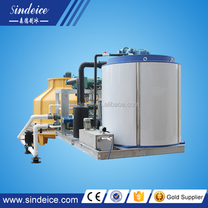 Shenzhen Sindeice New CE flake ice making machines engineer available to service